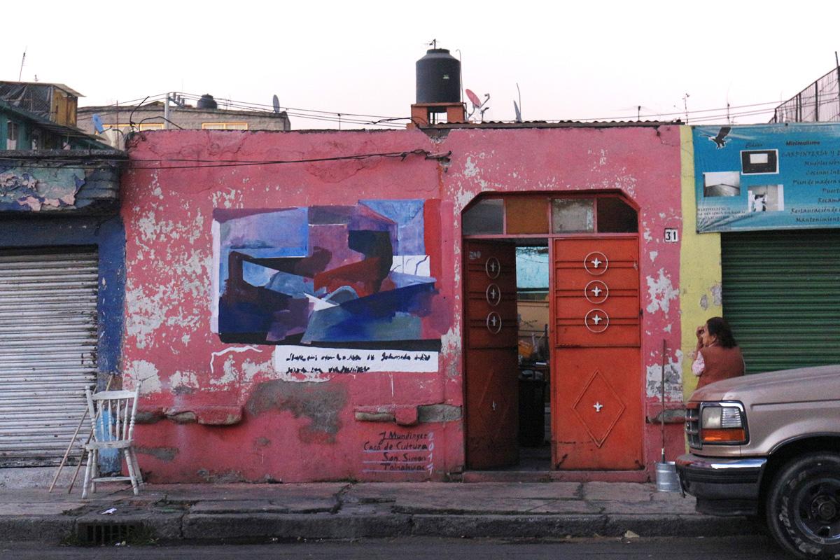 Tolnahuac, Mexiko Stadt, für das Casa de Cultura San Cristobal, Tolnahuac